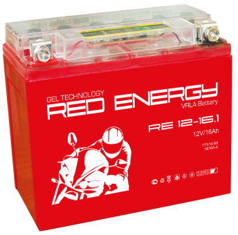 АКБ 12V 20 А/ч RE1220 Red Energy 204x91x159