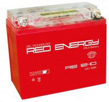 АКБ 12V 10 А/ч RE1210 Red Energy 137x77x135