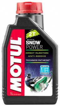 Масло MOTUL Snowpower Synth 2T синт. 1 л.