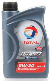 Масло TOTAL Quartz INEO MC3 5W-30 синт. 1 л.