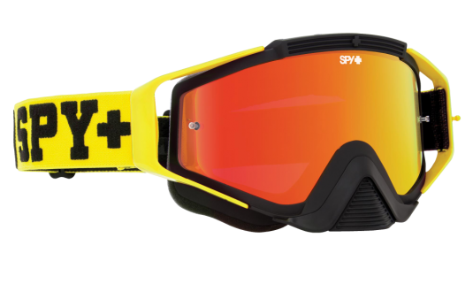 Очки MX SPY Optic Klutch, взрослые, унисекс jersey yellow - smoke w/ red spectra + clear afp