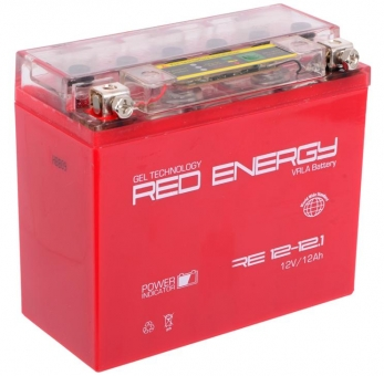 АКБ 12V 12 А/ч RE1212,1 Red Energy DS 151x71x130