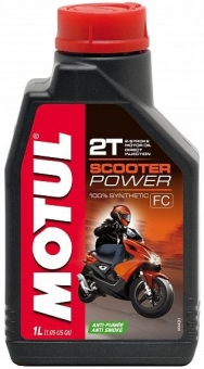 Масло MOTUL Scooter Power 2Т синт. 1 л.