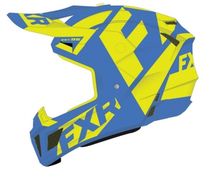 Шлем FXR Clutch CX, взрослые Blue/Hi Vis