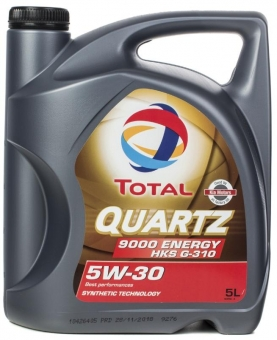 Масло TOTAL Quartz 9000 Energy 5W-30 синт. 5 л.