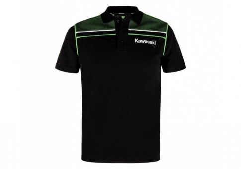 Футболка поло KAWASAKI SPORTS POLO SHORT SLE