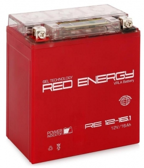 АКБ 12V 16 А/ч RE1216,1 Red Energy 151x88x164