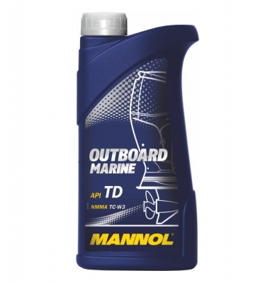 Масло MANNOL Outboard Marine 2T п/с. 1 л.
