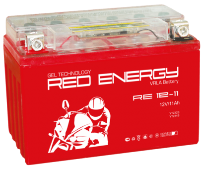 АКБ 12V 11 А/ч RE1211 Red Energy 151x86x112