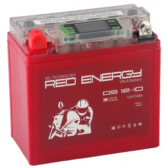 АКБ 12V 10 А/ч RE1210 Red Energy DS 137x77x135