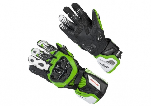 Перчатки KAWASAKI RACING GLOVES GREEN