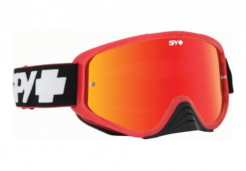 Очки MX SPY Optic Woot Race, взрослые, унисекс slice red-smoke wred spectra-clear afp