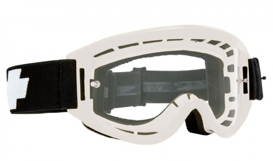 Очки MX SPY Optic Breakaway, взрослые, white - clear w/ posts