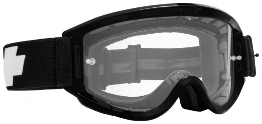 Очки MX SPY Optic Breakaway, взрослые, black - clear w/ posts
