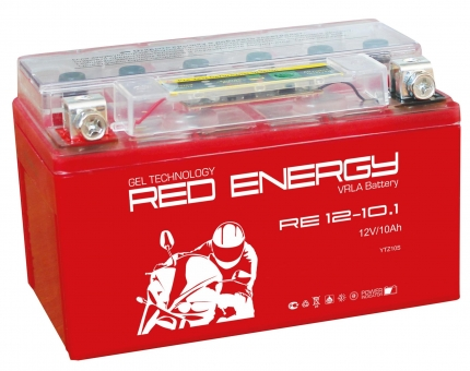 АКБ 12V 10 А/ч RE1210,1 Red Energy 150x86x93