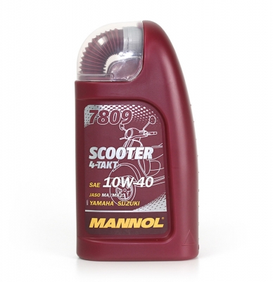 Масло MANNOL Scooter 10W-40 4T синт. 1 л.