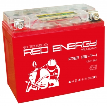 АКБ 12V 14 А/ч RE1214 Red Energy 151x88x147