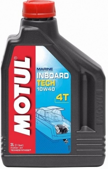 Масло MOTUL Inboard Tech H/SG/CD 10W-40 4T синт. 2 л.