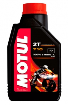 Масло MOTUL 710 Ester AS 2T синт. 1 л.