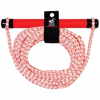 Буксировочный фал Airhead 1 Section Ski Rope with EVA Handle